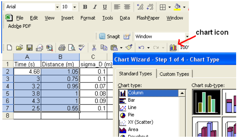excel how to add error bars to individual points