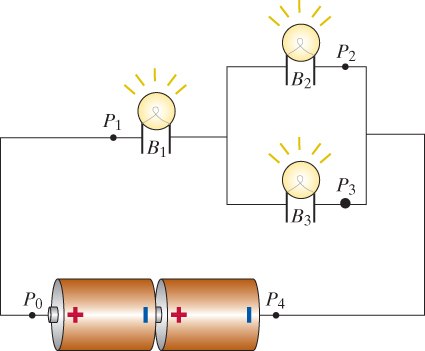 Solved X Three Identical Light Bulbs Are Connected To