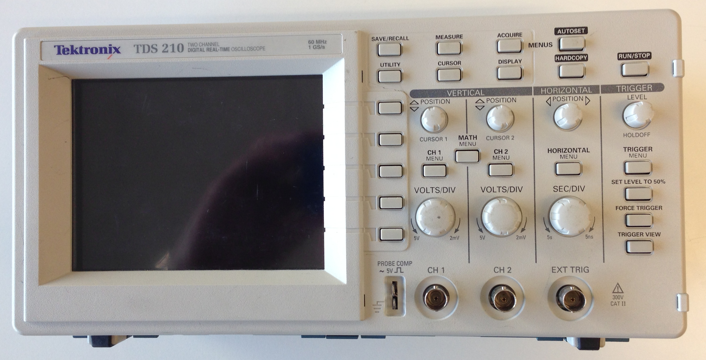 Oscilloscope and its principle of operation. Electronics lessons. Use oscilloscope 8
