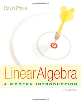 Linear Algebra: A Modern Introduction 4th edition
